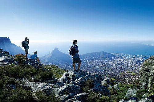 South Africa Safari Vacation - Table Mountain