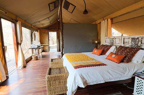 Changa Safari Camp, Zimbabwe