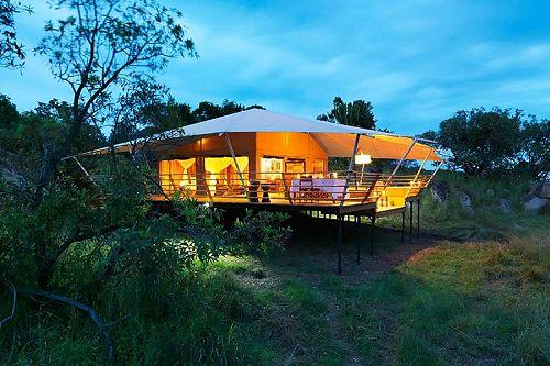 Tanzania Great Migration Safari - Serengeti Bushtops Camp