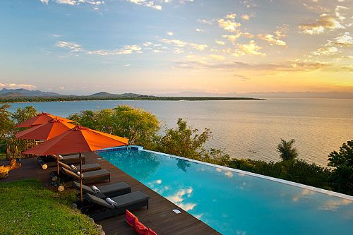 Pumulani Lodge Pool - Lake Malawi Vacation Package