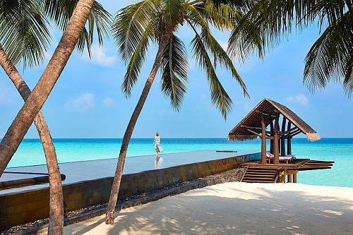 Luxury Lap Pool at One&Only Reethi Rah Maldives