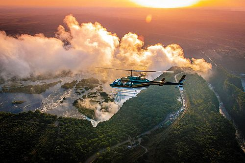 Helicopter Sightseeing Tour Over Victoria Falls