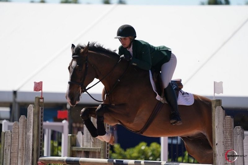 Lauren Hurst Horse Jumping