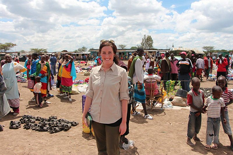 Ellen Hoffman - Nairobi Market - Kenya Safari Vacation - African Safari Travel Agency