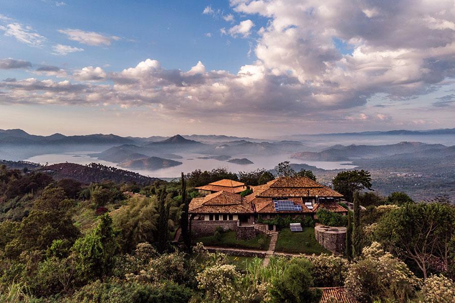 Rwanda Mountain Gorilla Safaris - Virunga Lodge