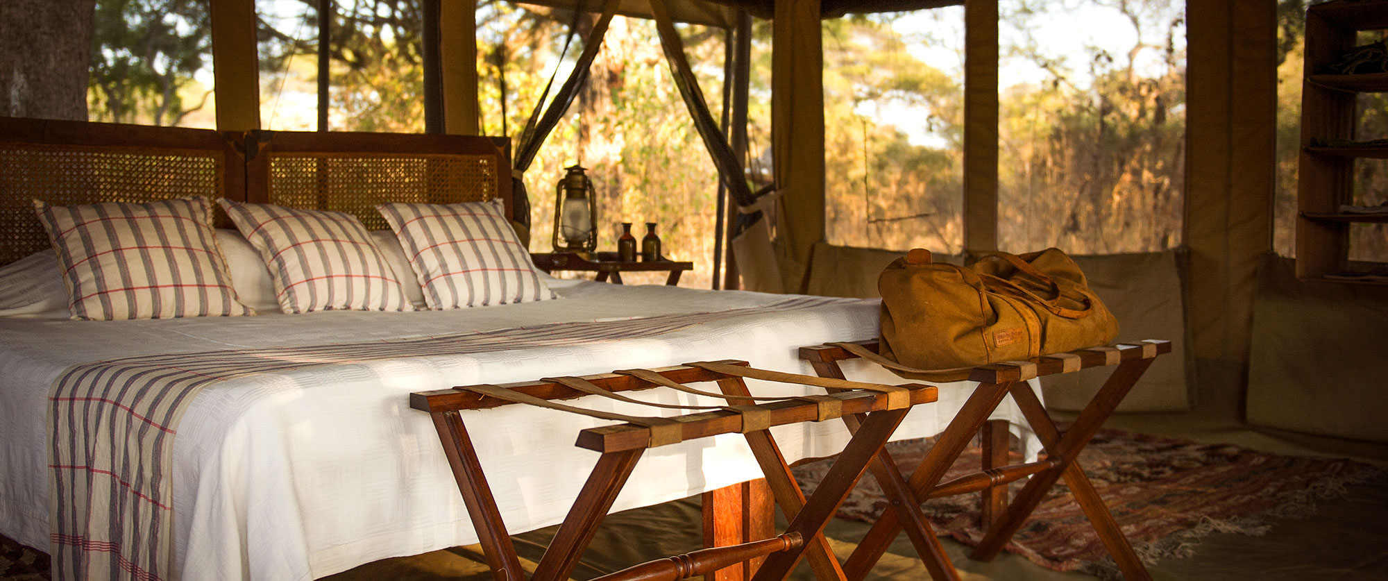 Tanzania Safari Getaway - Chada Katavi Luxury Bush Camp in Tanzania - Deluxe Tented Camp