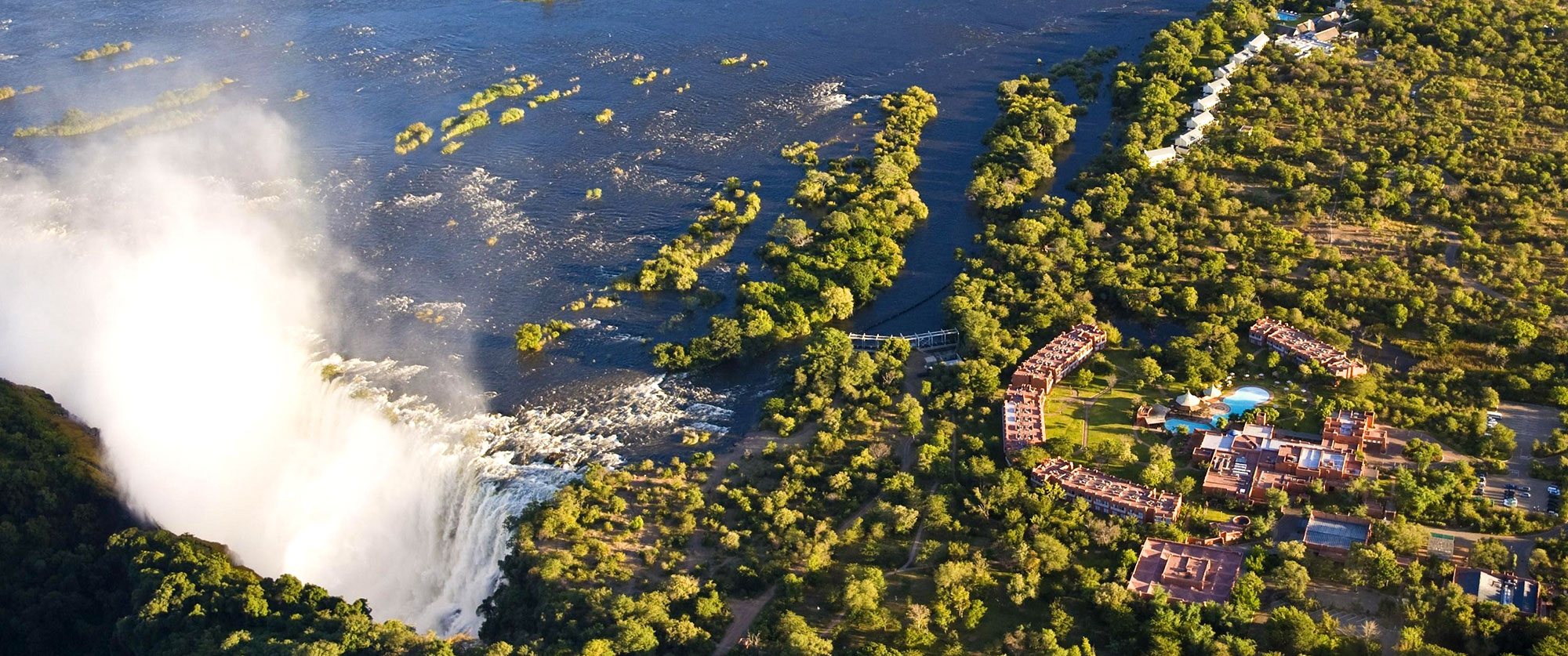 South Africa Highlights - Royal Livingstone Hotel - Victoria Falls