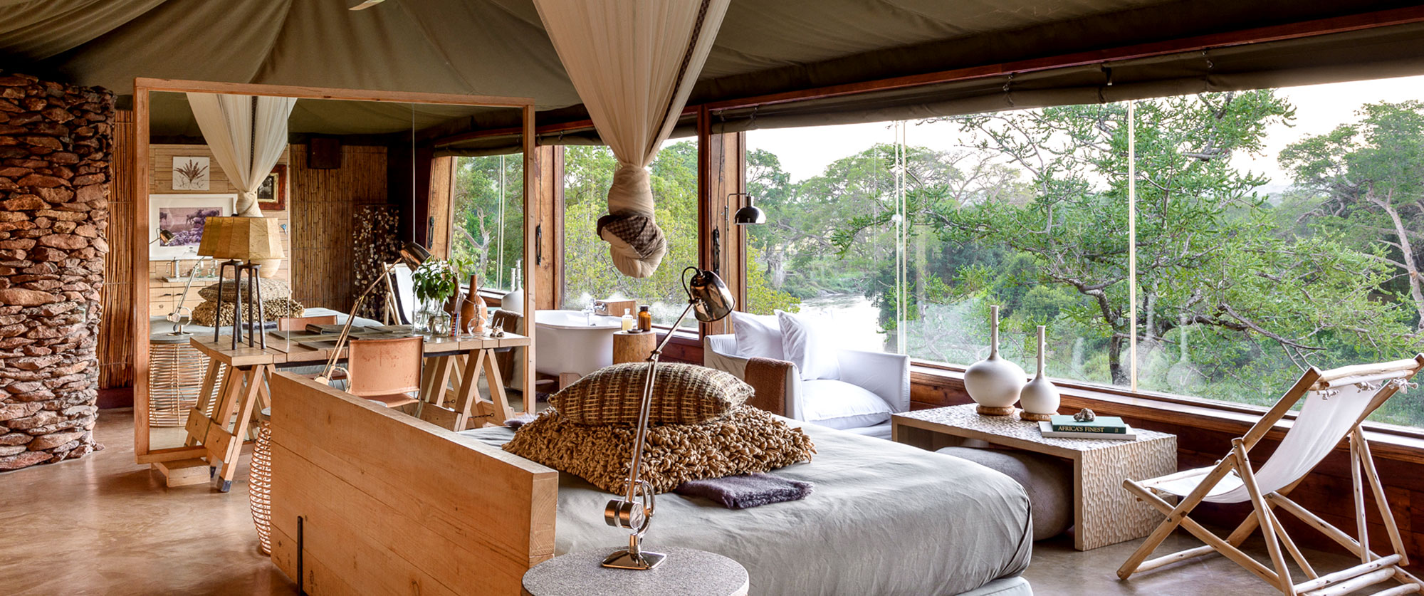 Rwanda and Tanzania Vacation - Singita Faru Faru Lodge