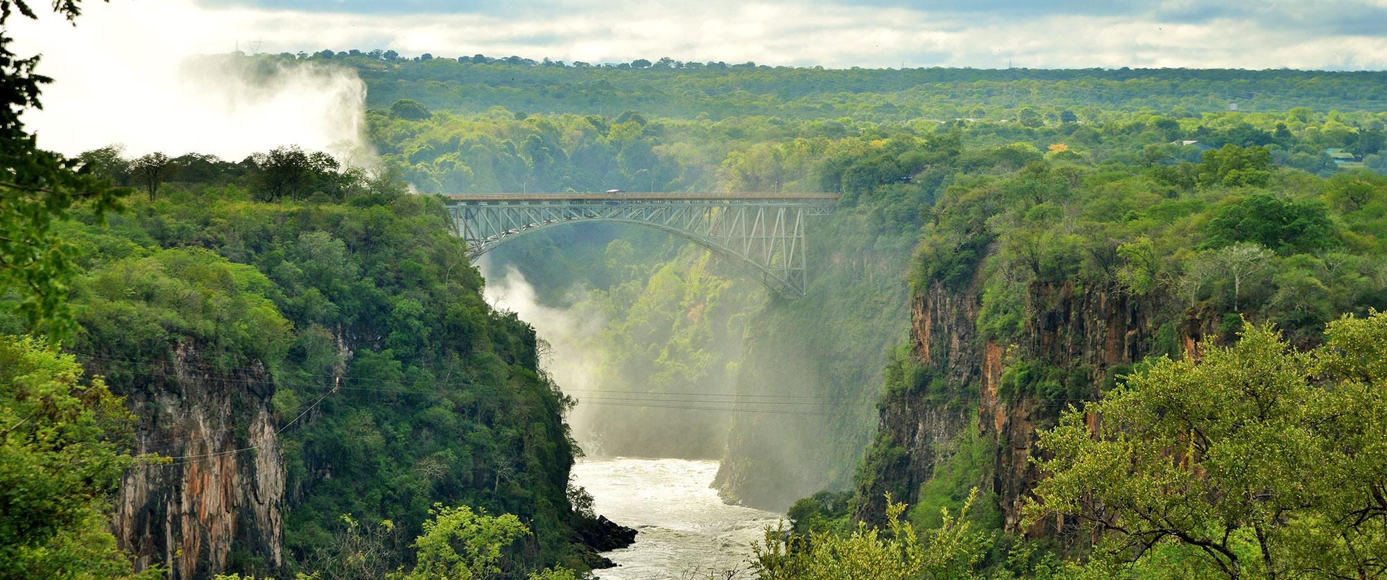 Africa Tour - Safari, Victoria Falls, Cape Town - Victoria Falls Hotel
