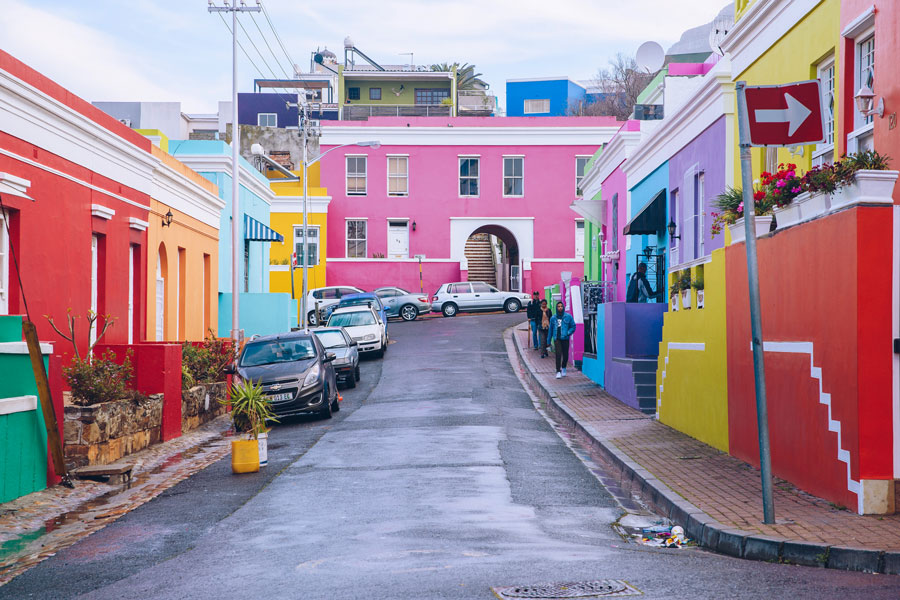 Colorful houses of Bo-Kaap Neighborhood-Tourism Cape Town - Visit Cape Town