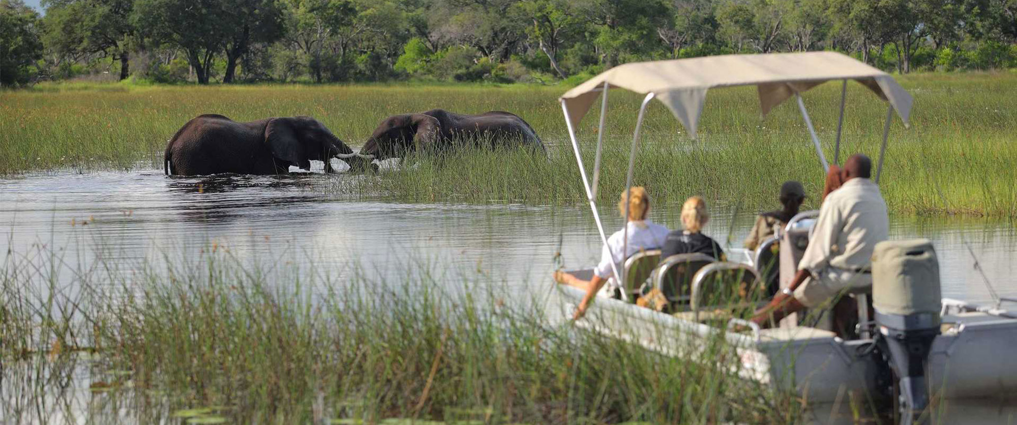 &Beyond Xudum Okavango Delta Lodge - Luxury African Safari Travel Package