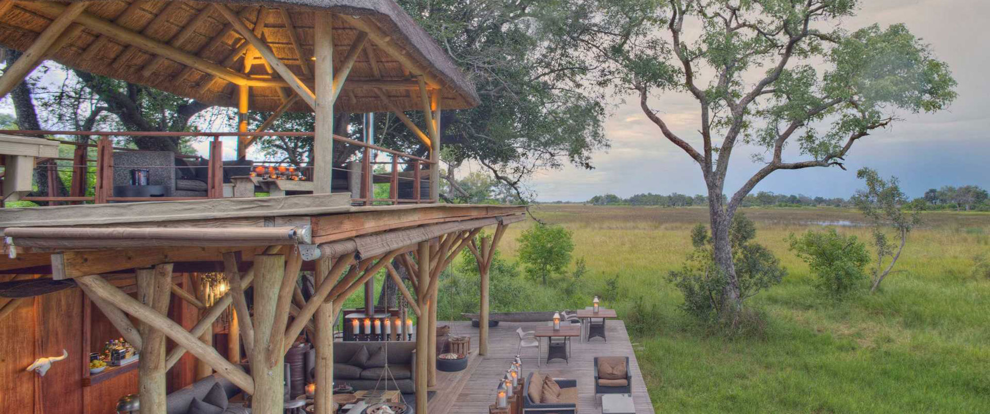 &Beyond Xudum Okavango Delta Lodge - Luxury African Safari