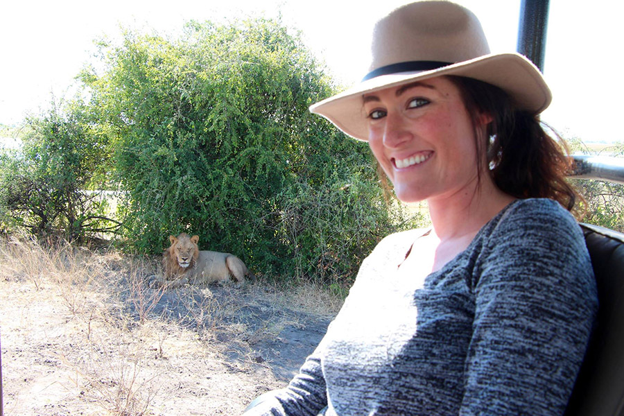 Africa travel experts - Ellen Hoffman