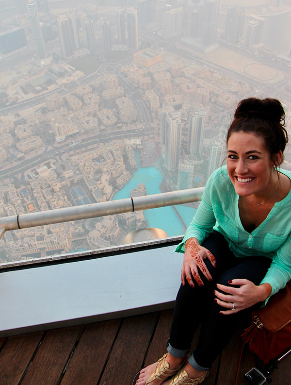 Dubai Burj Khalifa tallest building