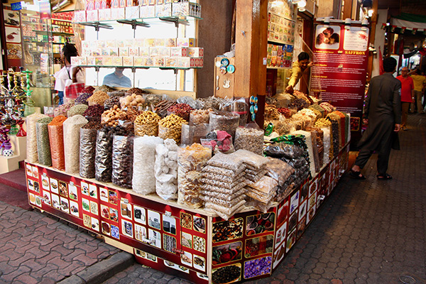 Traditional spice souks