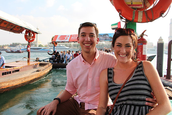 Traditional dhow cruise on the canal