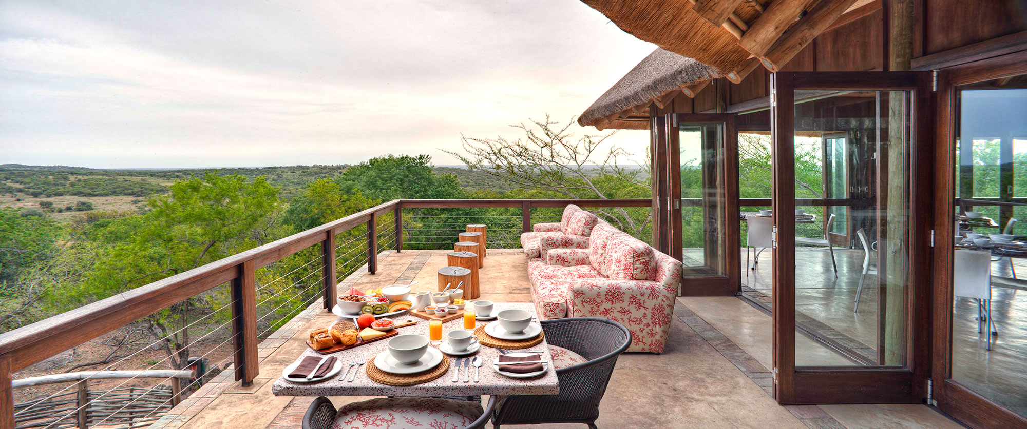 Africa Vacation Packages - Phinda Mountain Lodge
