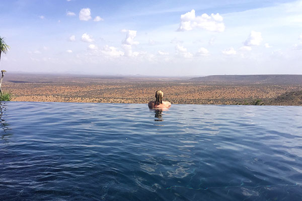 Trip to Africa - Kenya Wildlife Safari - Infinity Pool