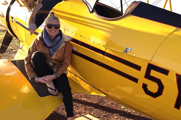 Trip to Africa - Kenya Wildlife Safari - Biplane