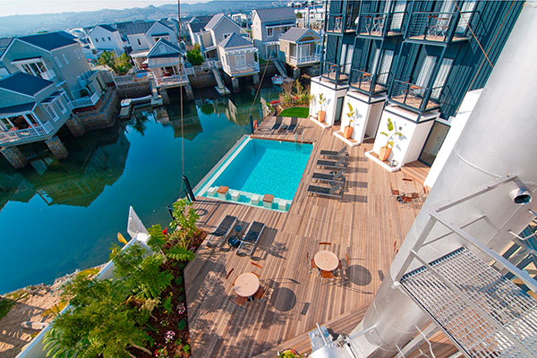 South Africa Garden Route - Turbine Hotel and Spa, Plettenberg Bay