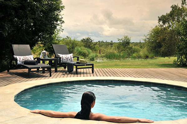 All Inclusive Africa Vacations - Private Plunge Pools