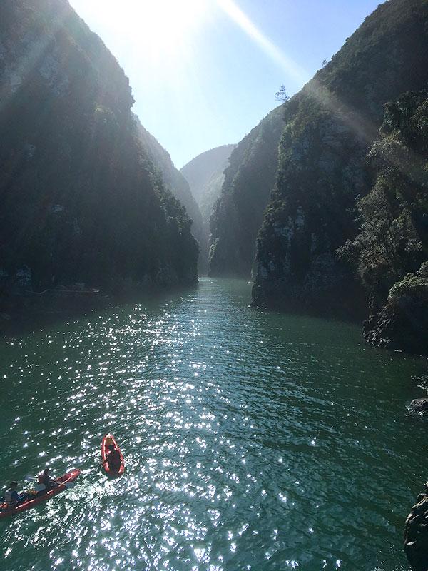 South Africa Garden Route - Things to Do - Tsitsikamma Kayaking