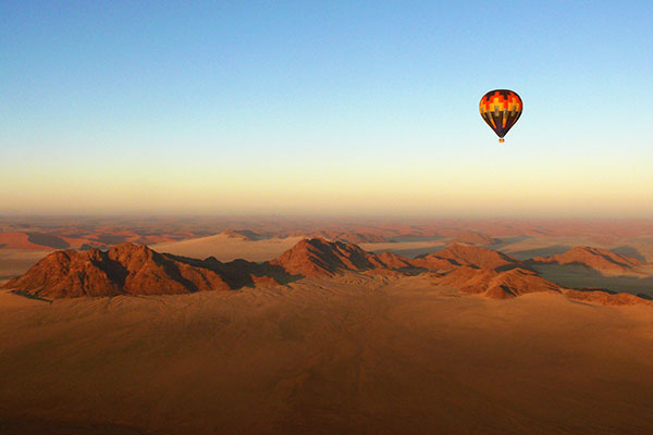 All Inclusive Africa Vacations - Hot Air Balloon Safari
