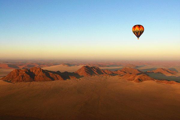 All Inclusive Africa Vacations - Hot Air Balloon Safari