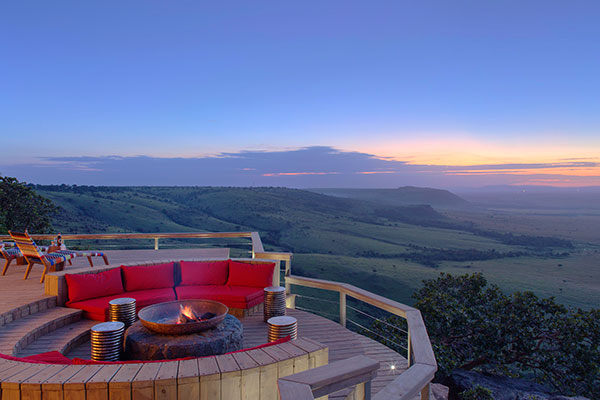Angama Mara, Romantic Safari Lodge in Kenya