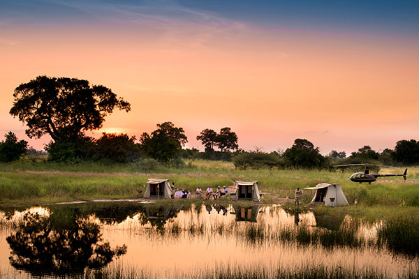 Selinda Adventure Trail, Botswana