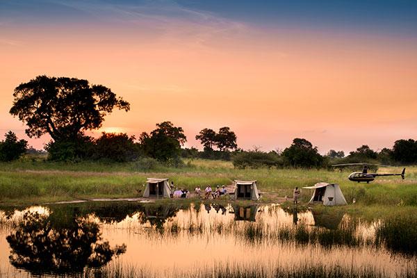 Selinda Adventure Trail, Botswana
