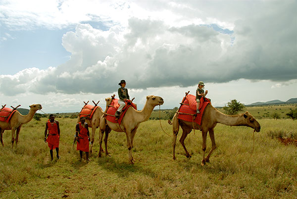 Camel Safari at Lewa House, Kenya