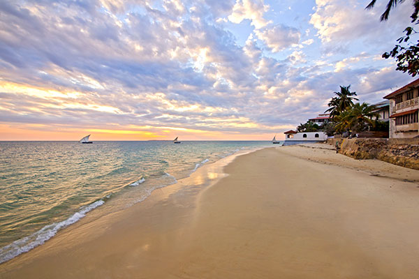 Best Africa Beaches - Zanzibar Beach at Sunset