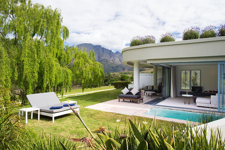South Africa Cape Winelands Luxury Hotel - Mont Rochelle