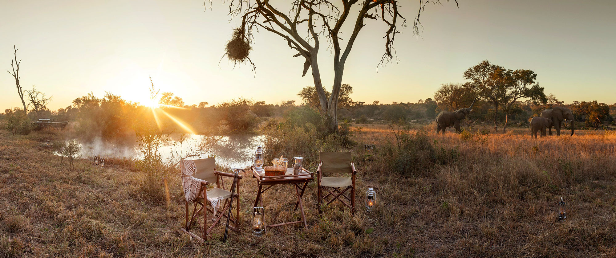 Luxury Safari Kruger National Park - Kings Camp Luxury Safari Lodge in Timbavati
