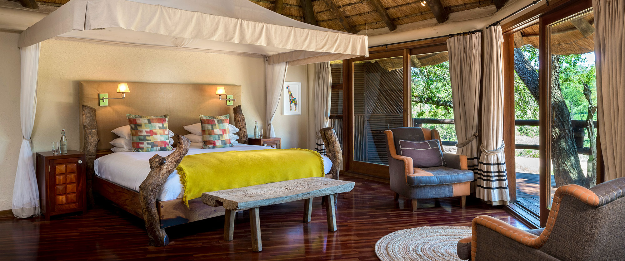 South Africa Safari and Wine Vacation - Ulusaba Safari Lodge