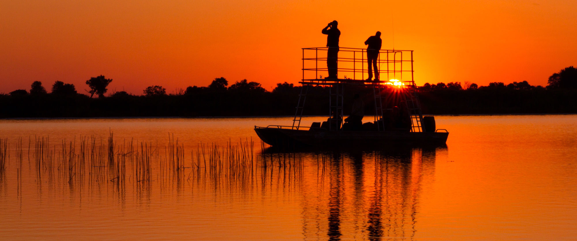 Botswana Safari Tour: Peak Season Okavango Adventure - Sunset Safari Cruise