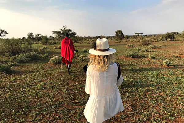 Luxury Africa Travel Specialists - Laura Tober - Walking Safari with Maasai in Tanzania