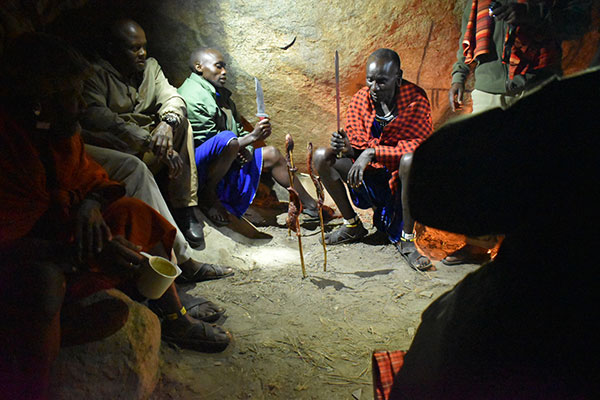 Tanzania authentic cultural interactions - dinner with the Maasai in Tanzania