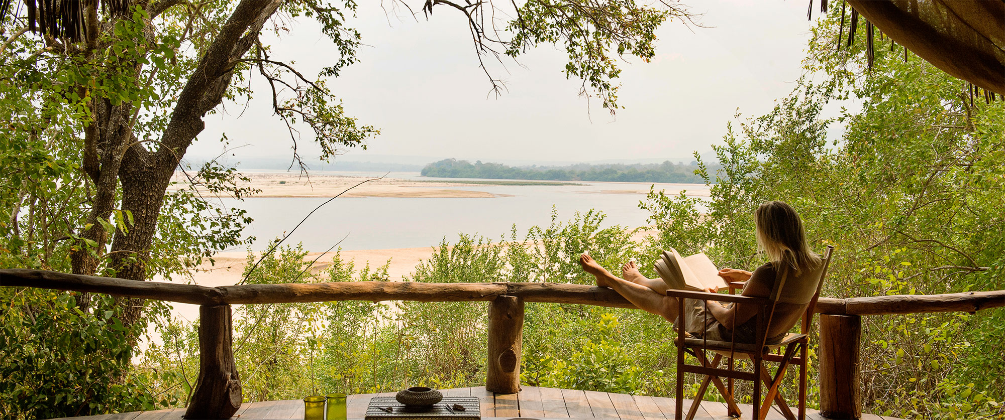 Tanzania Travel Packages - River View at Sand Rivers Selous Lodge, Selous Game Reserve
