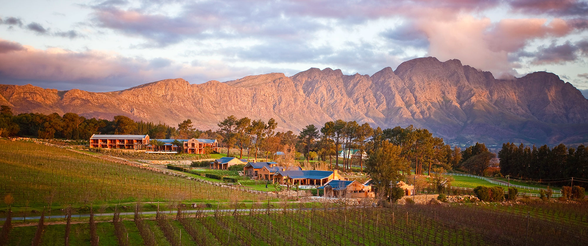 Luxury South Africa Travel Packages - Franschhoek Valley, Cape Winelands, South Africa