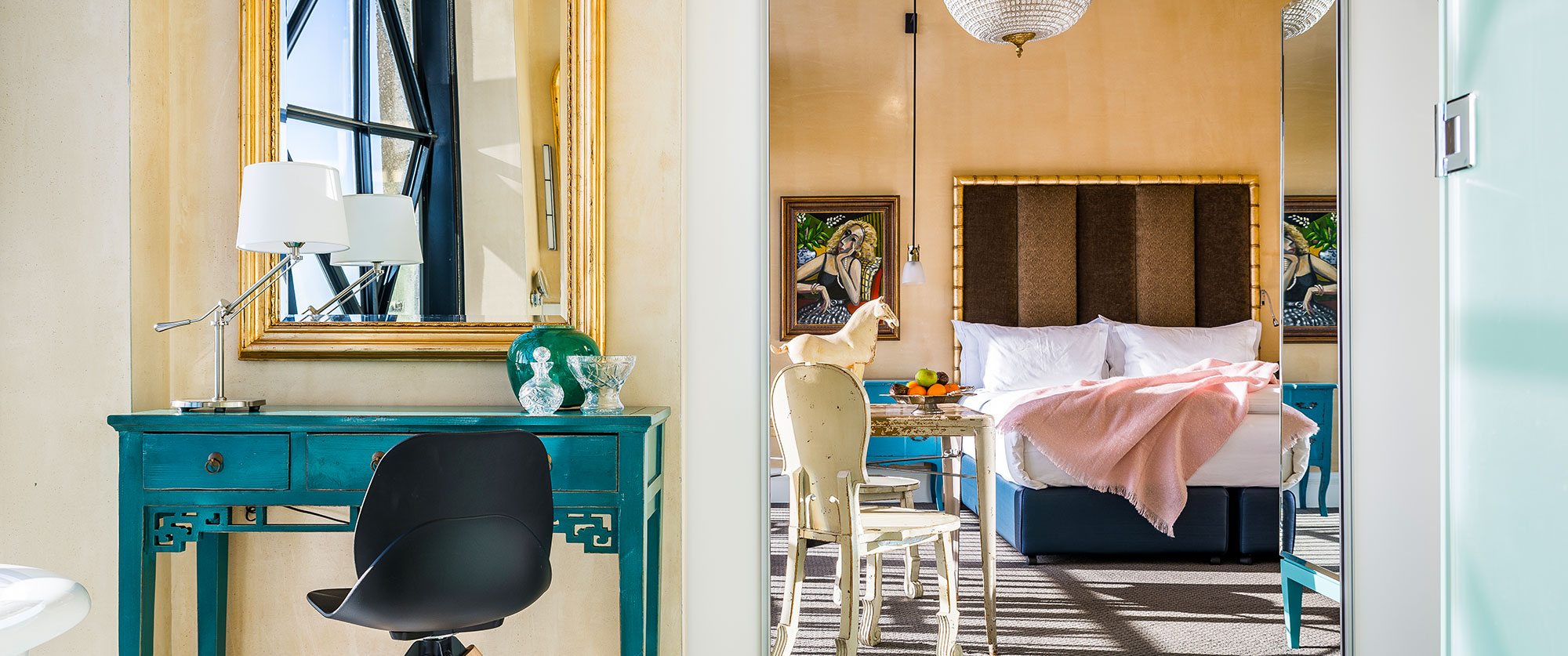 Luxury South Africa Travel Packages - Individually decorated rooms at The Silo Hotel Cape Town