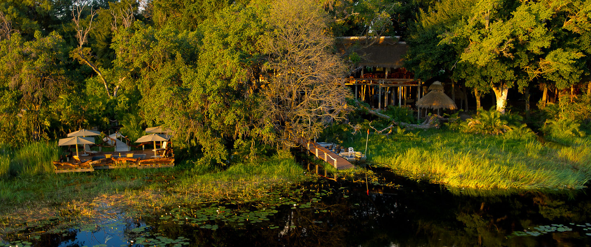 Okavango Delta Packages - Luxury Safari - Jao Camp Exterior