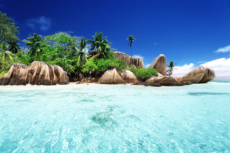 African Beach Vacations - Anse Source d'Argent Beach, Seychelles