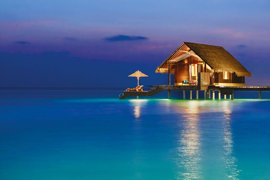 East Africa Beach Vacations - Luxury Overwater Bungalow Resort, Maldives