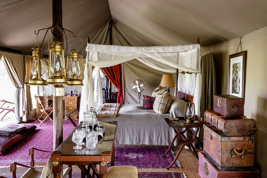 East Africa Safari Travel - Luxury Tented Camp in the Serengeti, Tanzania - Singita Sabora Camp