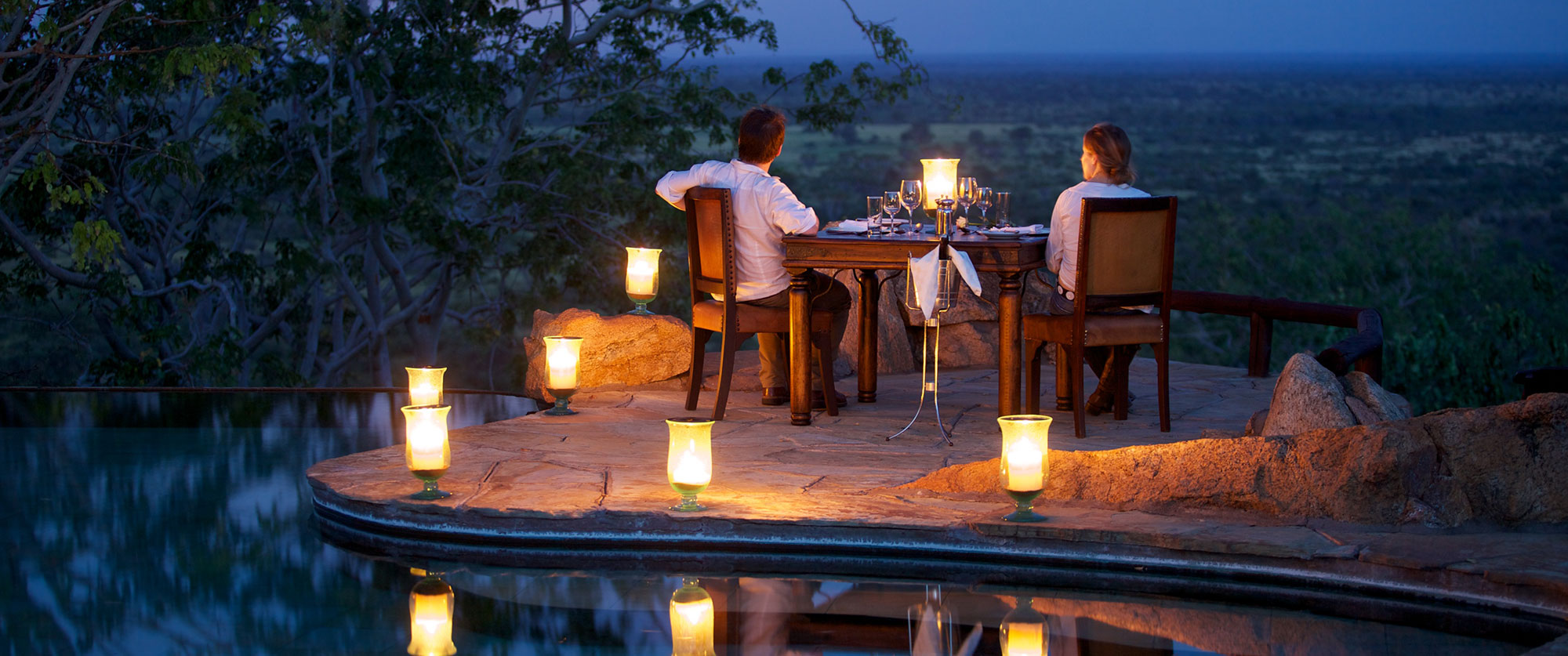 Private Dining at Elsa's Kopje Safari Lodge, Kenya