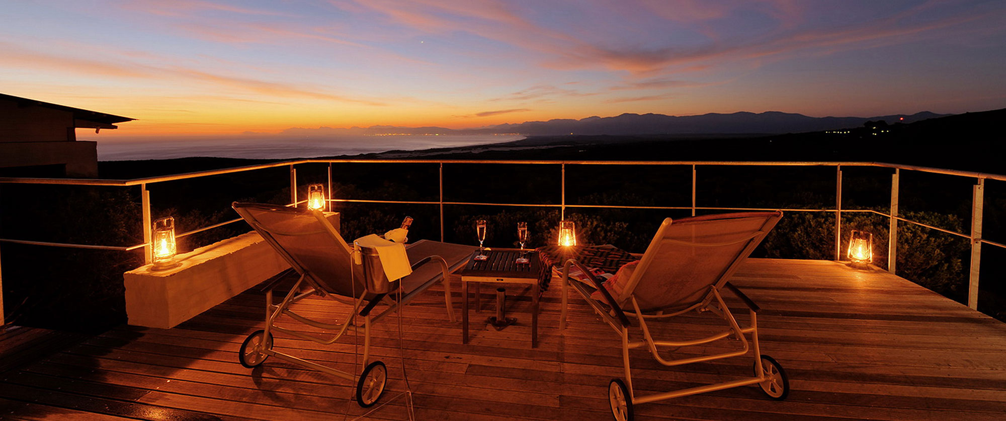 Grootbos Forest Lodge South Africa - Sunset View