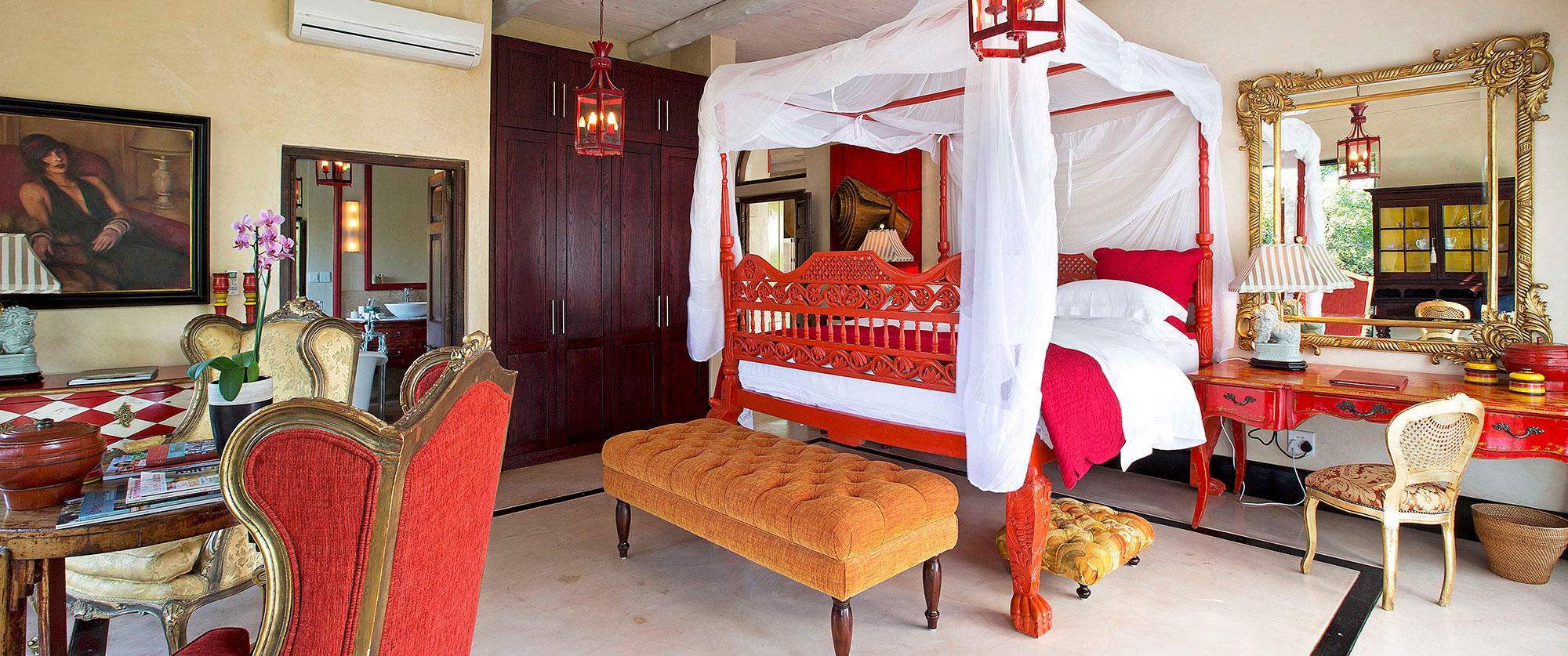 Royal Malewane Safari Lodge Suite