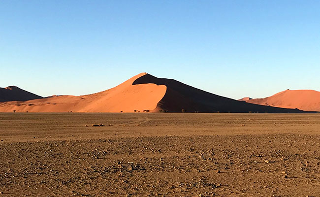 Sand Dunes in Namib-Naukluft National Park